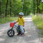 Už není mimino, chce kolo…