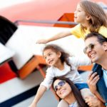 V letadle s malými dětmi